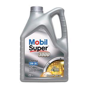 Engine Oils and Lubricants, Mobil Super 3000 Formula R 5W-30 Engine Oil - 5 Litres, MOBIL