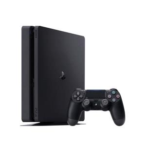 Gaming, Playstation 4 500GB Slim Console - Black, Playstation