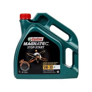 Engine Oils and Lubricants, Castrol Magnatec 5W-30 C2 Fully Synthetic Engine Oil - 4 Litre, Castrol