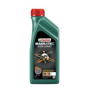 Engine Oils and Lubricants, Castrol Magnatec 0W-30 D Stop-Start Fully Synthetic Engine Oil - 1 Litre, Castrol
