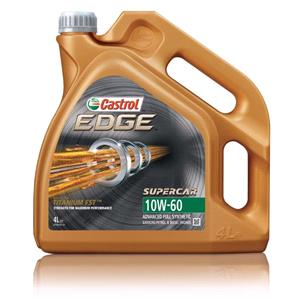 Engine Oils and Lubricants, Castrol Edge Supercar 10w60 Titanium FST Fully Synthetic Engine Oil - 4 Litre, Castrol
