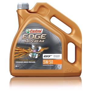 Engine Oils and Lubricants, Castrol Edge Supercar 5W-50 Engine Oil - 4 Litre, Castrol