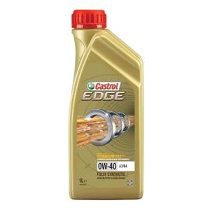Engine Oils and Lubricants, Castrol Edge 0W-40 A3-B4 Titanium FST Fully Synthetic Engine Oil - 1 Litre, Castrol