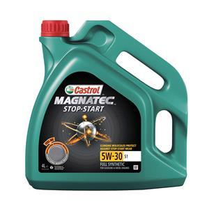 Engine Oils and Lubricants, Castrol Magnatec Stop-Start 5W-30 Engine Oil S1 - 4 Litre, Castrol