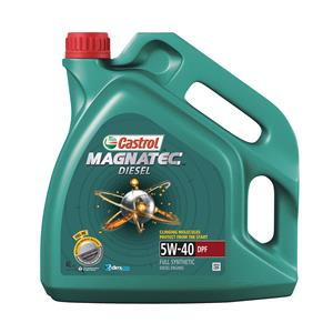 Engine Oils and Lubricants, Castrol Magnatec Diesel 5W-40 Engine Oil DPF - 4 Litre, Castrol