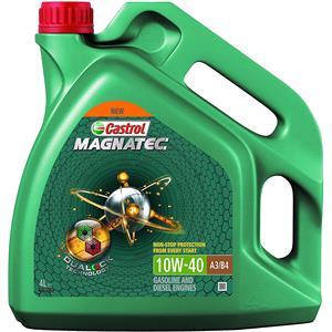 Engine Oils and Lubricants, Castrol Magnatec 10W-40 A3-B4 - 4 Litre, Castrol