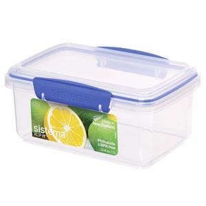 Food Storage, Sistema KLIP IT Rectangle Box - 1 Litre, Sistema