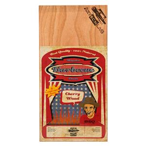 BBQ Accessories, Axtschlag Barbecue Wood Planks - Cherry Wood (Pack of 4 Single Use), Axtschlag
