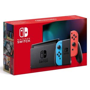 Gifts, Nintendo Switch Neon Red/ Blue with Improved Battery Life, Nintendo