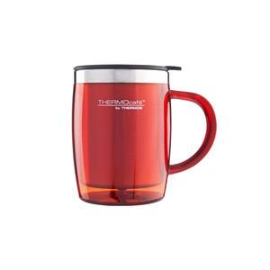 Reusable Mugs, Thermos Thermocafe Desk Mug - 450ml - Red, Thermos