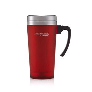 Reusable Mugs, Thermos Thermocafe Zest Travel Mug - 400ml - Red, Thermos