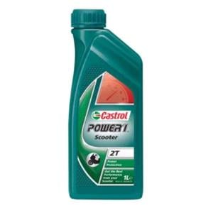 Engine Oils and Lubricants, Castrol Power 1 Scooter 2T - 2 Stroke - Semi Sythnetic - 1 Litre, Castrol