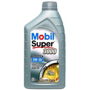 Engine Oils and Lubricants, Mobil Super 3000 Formula R 5W-30 Engine Oil - 1 Litre, MOBIL