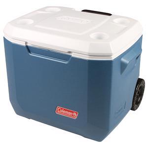 Cooler Boxes, Coleman 50QT Xtreme Wheeled Cooler - Blue, Coleman