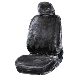 Seat Covers, Walser Teddy Front Car Seat Cover - Anthracite For Mitsubishi GALANT 1977-1980, Walser