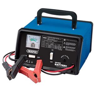 Battery Charger, Draper 20487 6-12V 5.6A Battery Charger, Draper
