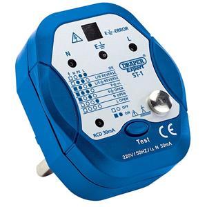 Testers and Detectors, Draper Expert 22278 13A Socket Tester, Draper