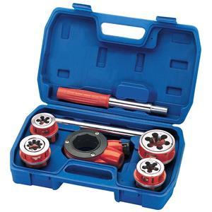 Pipe Threaders, Draper 22496 Metric Ratchet Pipe Threading Kit (7 Piece), Draper