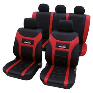 Seat Covers, Red & Black Car Seat Covers - For Mitsubishi Outlander up to 2007, Petex