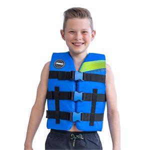 Buoyancy Aids, JOBE Nylon Vest Youth - Blue, JOBE