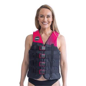 Buoyancy Aids, JOBE Women's 4 Buckle Vest - Hot Pink - Size L, JOBE