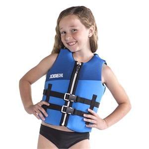 Buoyancy Aids, JOBE Neoprene Vest Youth - Blue - Size 10, JOBE