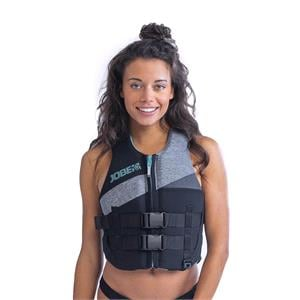 Buoyancy Aids, JOBE Women's Neoprene Vest - Cool Grey - Size S, JOBE