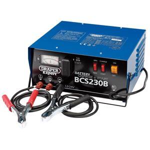 Battery Charger, Draper Expert Battery Charger 24561, Draper