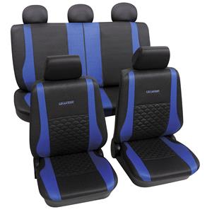 Seat Covers, Petex Universal Seat Cover Eco-Class Exclusive Complete Set SAB-1, Petex