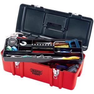 Tool Boxes, Draper Expert 27732 580mm Tool Box with Tote Tray, Draper