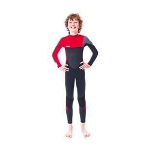 Wetsuits, JOBE Boston 3|2mm Kid's Wetsuit - Red - Size M, JOBE