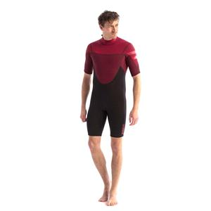 Wetsuits, JOBE Perth Shorty 3|2mm Men's Wetsuit - Red - Size M, JOBE