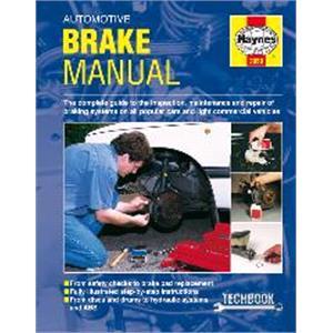Haynes DIY Workshop Manuals, Haynes Manual - Automotive Brake, Haynes