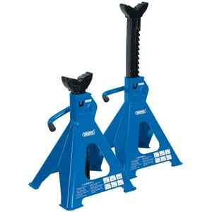 Axle Stands, Draper 30883 6 tonne Ratcheting Axle Stands (Pair), Draper