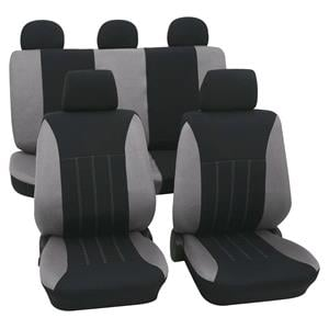 Seat Covers, Grey & Black Car Seat Covers - For Mitsubishi Outlander up to 2007, Petex