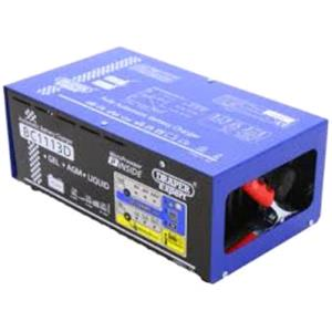 Battery Charger, Draper Expert 07265 6-12-24V Battery Charger with Desulphation Facility, Draper