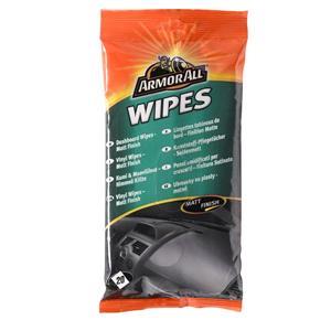 Dash, Rubber and Plastics, ArmorAll Dashboard Wipes (Matt Finish) - Pack of 20, ARMORALL