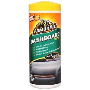Dash, Rubber and Plastics, ArmorAll Dashboard Wipes (Matt Finish) - Tub of 30, ARMORALL