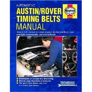 Haynes DIY Workshop Manuals, Haynes Manual - Austin and Rover Automotive Timing Belts, Haynes