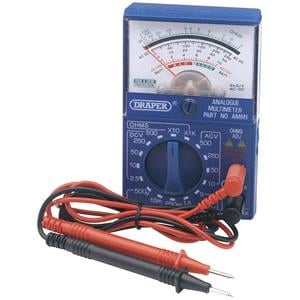 Multimeters, Draper 37317 Pocket Analogue Multimeter, Draper