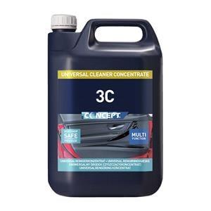 Concept, Concept 3C Cleaner Concentrate - 5 Litre, Concept