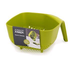 Utensils & Gadgets, Joseph Joseph Square Colander - Green, JosephJoseph