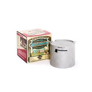 BBQ Accessories, Axtschlag Barbecue Smoker Cup Stainless Steel, Axtschlag