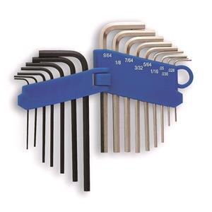Socket Set, LASER 4196 Miniature Hex Key Set - 16 Piece, LASER