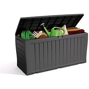 Garden Storage, Keter Marvel Plus 270 Litres Garden Storage Box - Grey, Keter