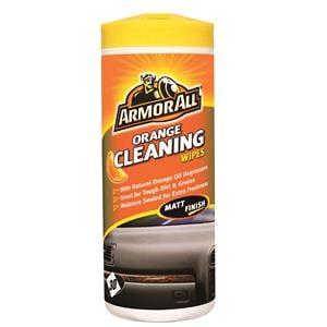 Dash, Rubber and Plastics, ArmorAll OrangeCleaning Wipes (Matt Finish) - Tub of 30, ARMORALL