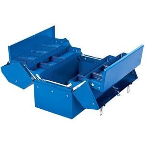 Tool Boxes, Draper 48566 460mm Barn Type Tool Box with 4 Cantilever Trays, Draper
