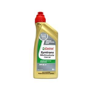 Gearbox Oils, Castrol Syntrans Multivehicle 75w90 Gear Oil - 1 Litre, Castrol