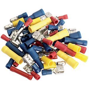 Crimping Tools, Draper 50002 Terminal Assortment (50 Piece), Draper