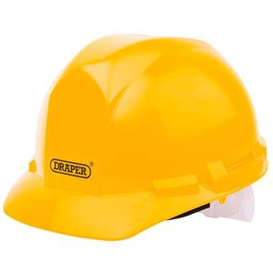 Personal Protective Equipment, Draper 51138 Yellow Safety Helmet to EN397, Draper